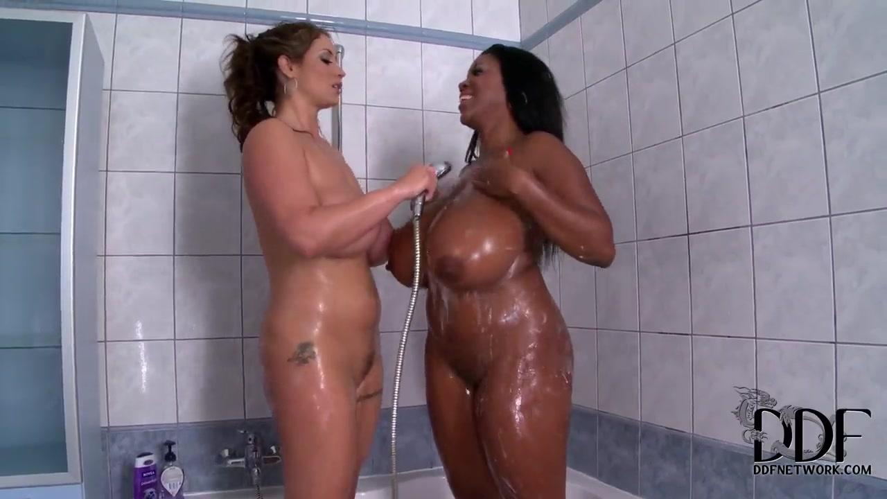 Bbw Big Tits Lesbian Strapon