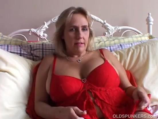 British Blonde Mature Fuck