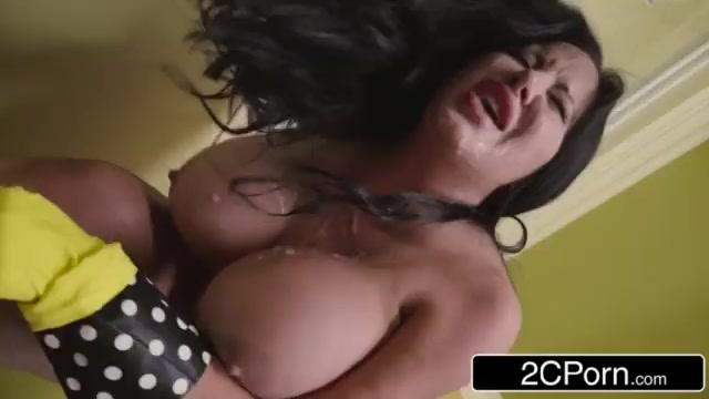 Hot big tit threesome