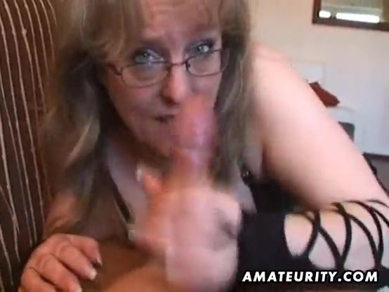 Amateur Wife Gives Handjob