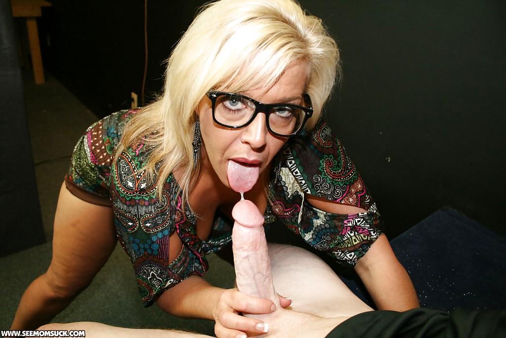Mature Blonde Gets Hard Fuck